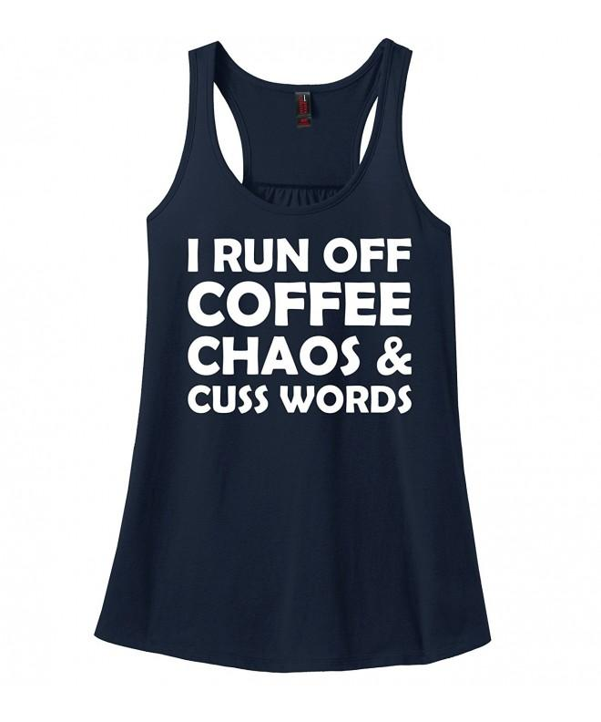 Comical Shirt Ladies Coffee Chaos