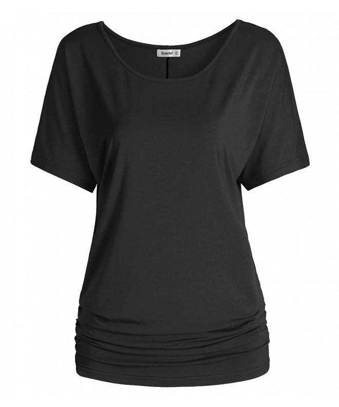 Esenchel Womens Short Sleeve Dolman