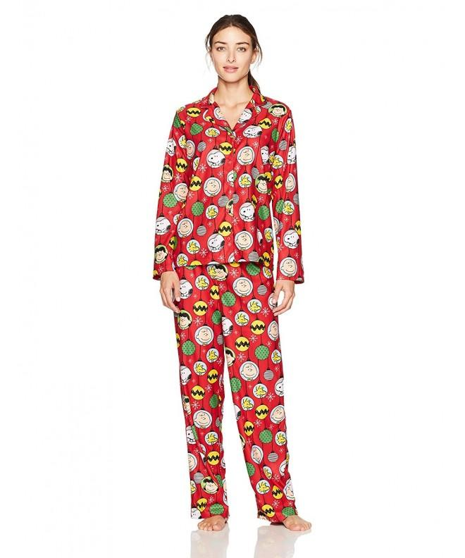 Peanuts Womens Family 2 Piece Holiday