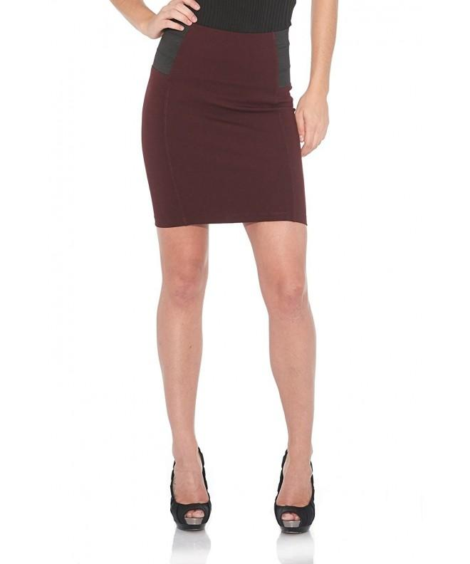 Suko Ponte Pencil Skirt Women