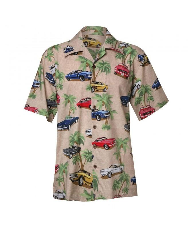 Classic Mustangs Camp Shirt XL