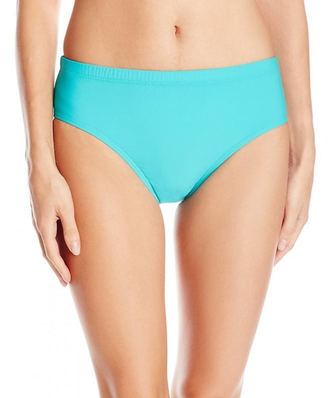 ATHENA Womens Mid Waist Bikini Bottom