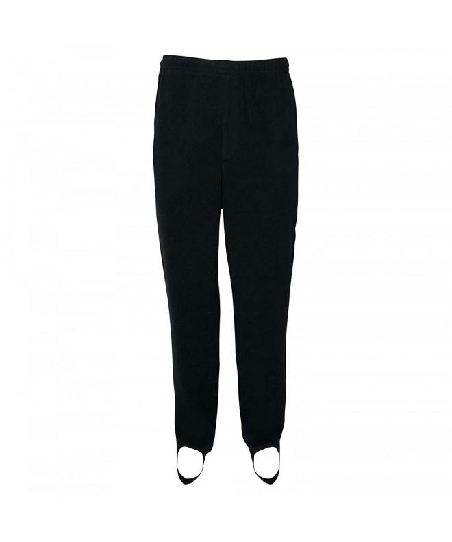 Fishing Pant Fleece Black Medium