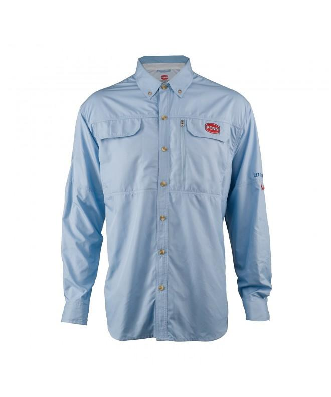 Penn LSVPENSDBLUL Vented Performance Shirts