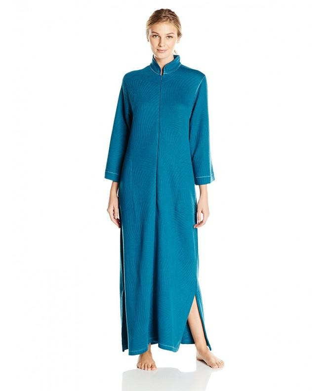 Natori Womens Quilted Caftan X Small