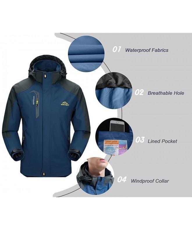 Jacket Diamond Candy lightweight Waterproof Blue