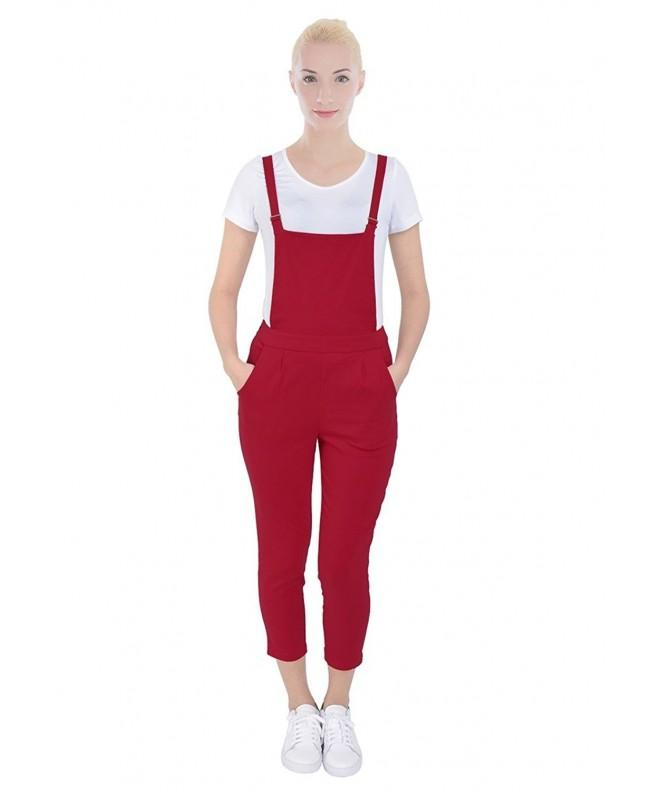 PattyCandy Womens Jumpsuit Overalls Fitted