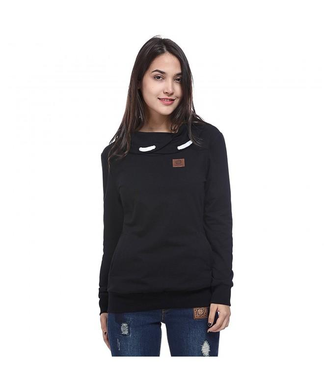 Fancyqube Womens Casual Pullover Sweatshirt