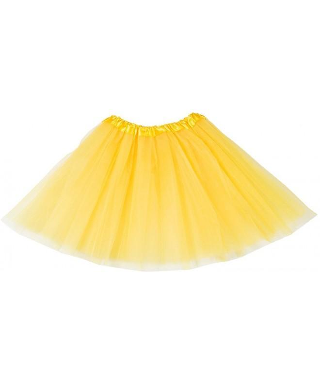 Womens 3 Layered Classic Elastic Petticoats T