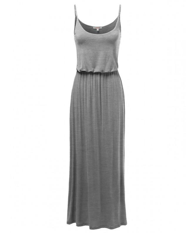 Awesome21 Solid Adjustable Strap Dresses