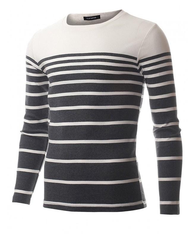FLATSEVEN Crewneck Gradual T Shirt TRL3005