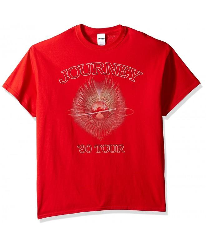 Journey Mens Tour T Shirt Red