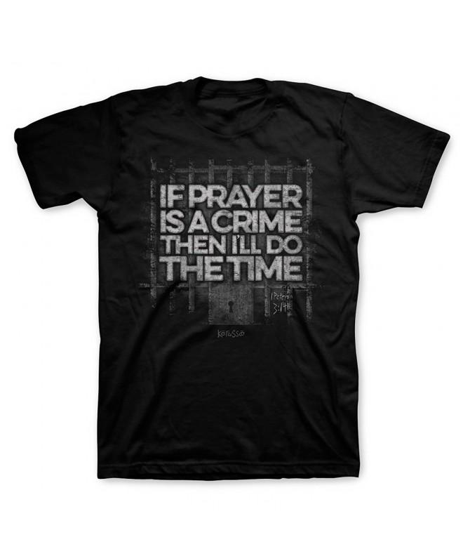 Kerusso Prayer Crime Tee Black