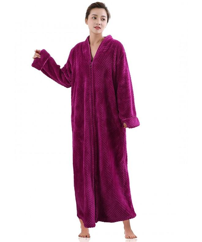 Hellomamma Womens Dressing Bathrobe Sleepwear