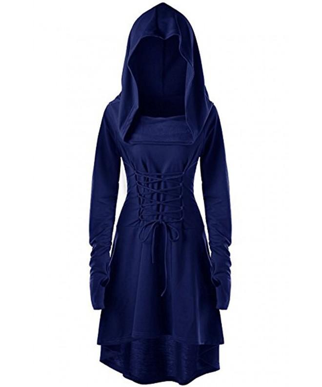 EastLife Womens Hooded Vintage Pullover