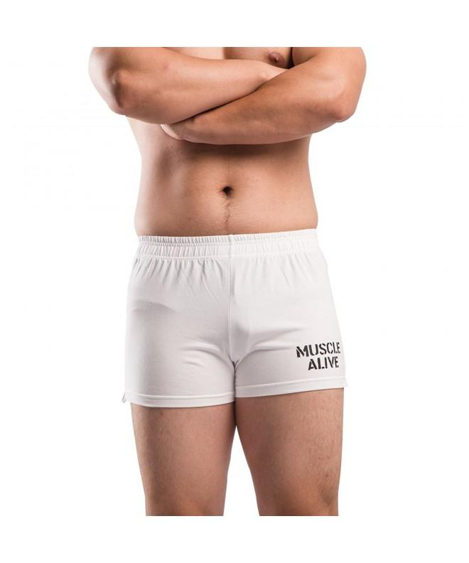 MUSCLE ALIVE Bodybuilding Shorts Inseam
