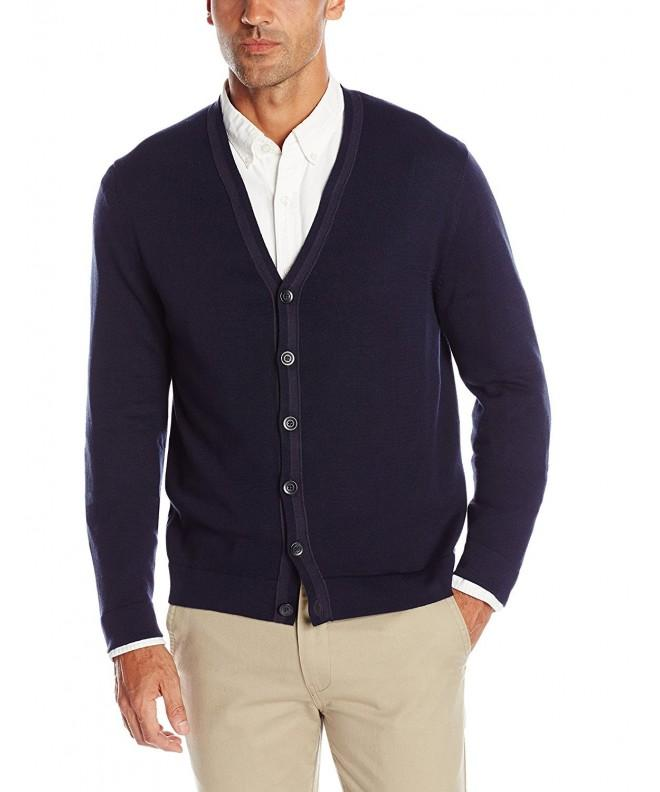 Haggar Lightweight Buttondown Cardigan Sweater