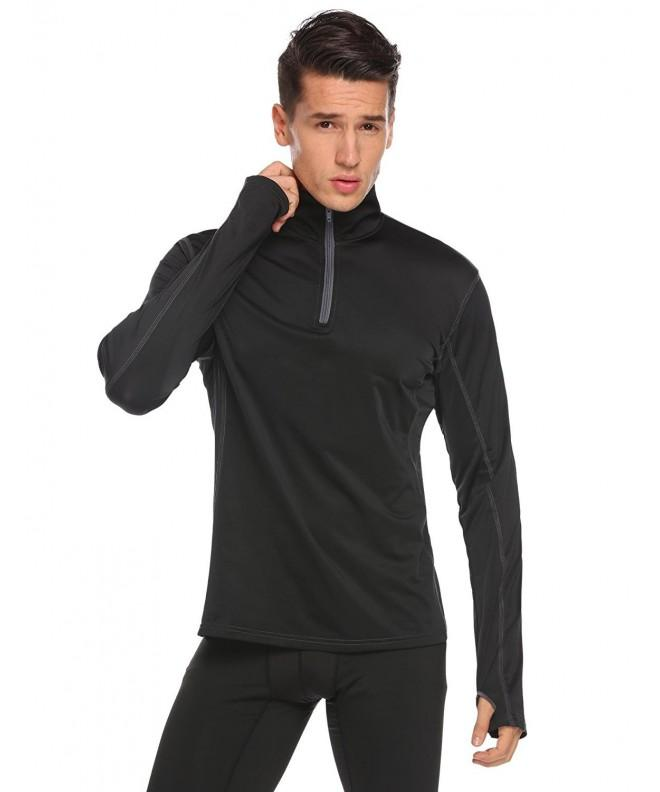 Dongba Sleeve Active Quarter Zip Pullover