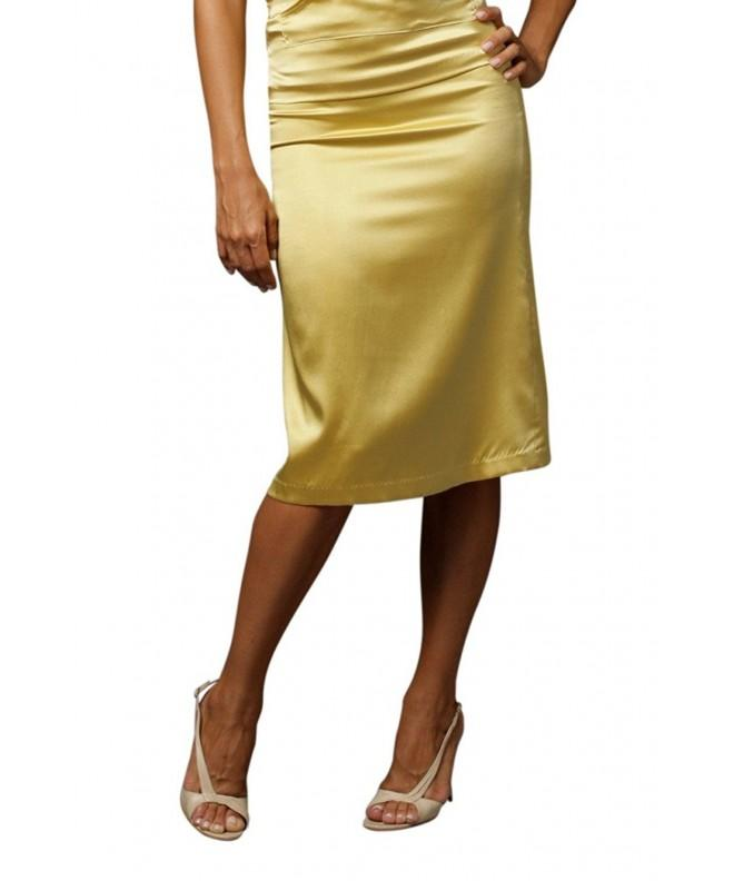 KELLY NISHIMOTO Pleat Skirt Yellow