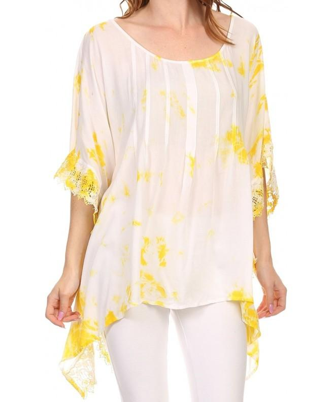 Sakkas NP23749 Embroidered Square Poncho