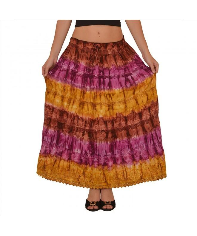 Skirts Scarves Womens Cotton Length
