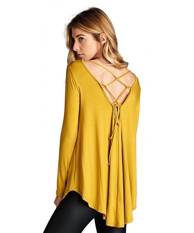 Jersey Sleeve Scoop V Neck T17566