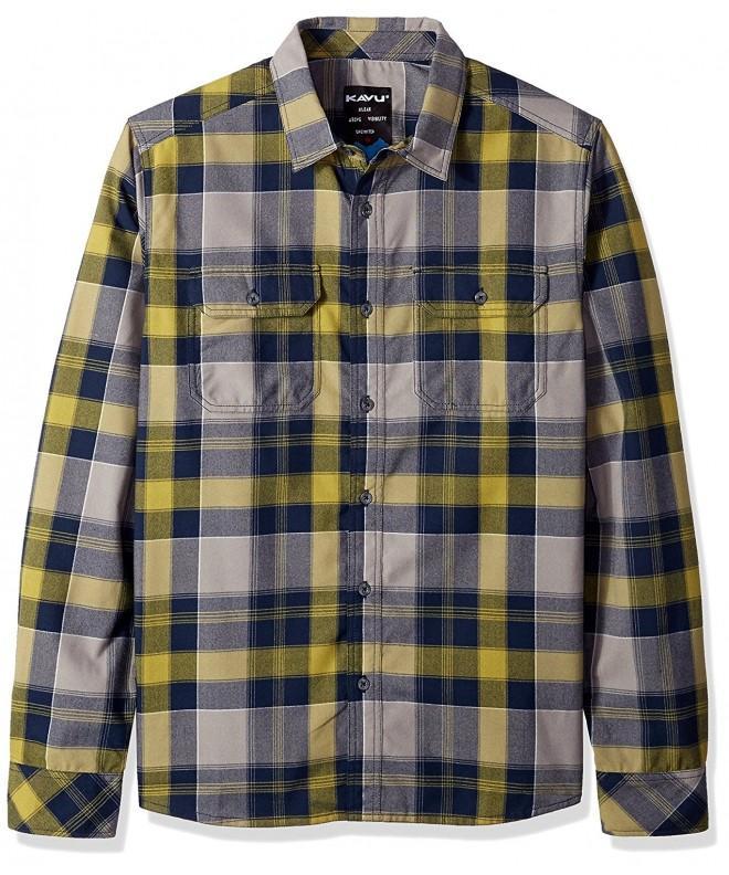 KAVU Tucky Button Shirt Northwest