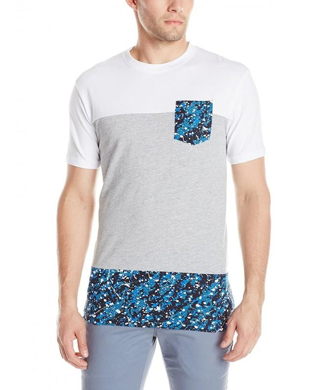 Southpole Sleeve T Shirt Splash Prints