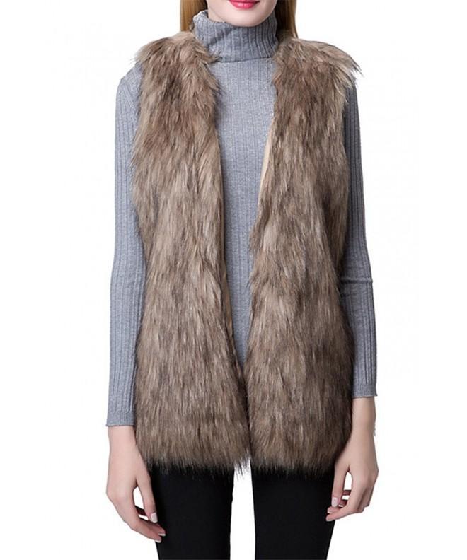 Escalier Women Waistcoat Sleeveless Jacket