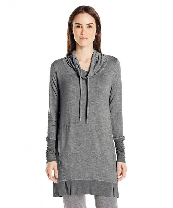 Midnight Carole Hochman Pullover Heather