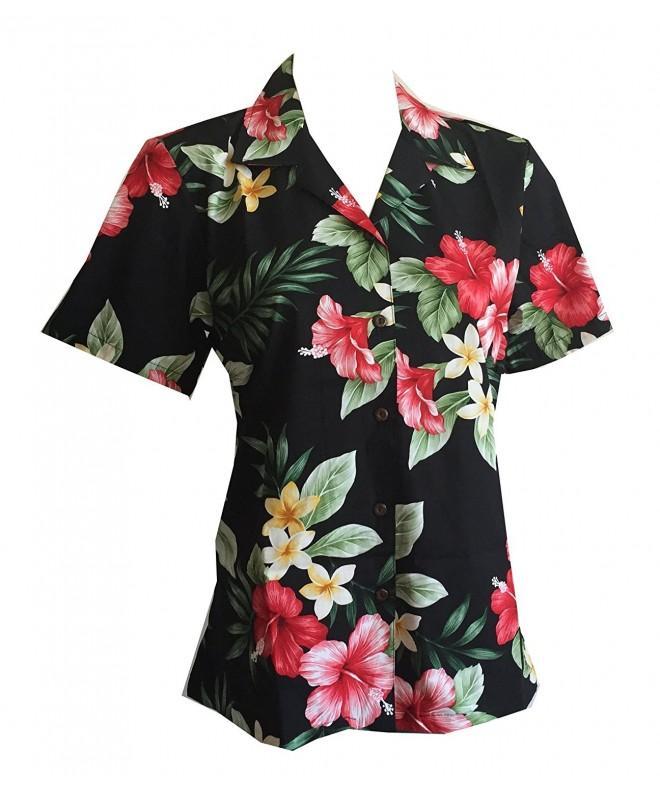 Womens Hibiscus Floral Hawaiian Aloha