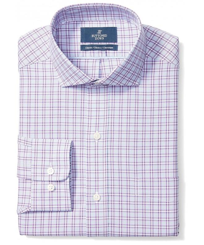 Buttoned Down Classic Cutaway Collar Non Iron