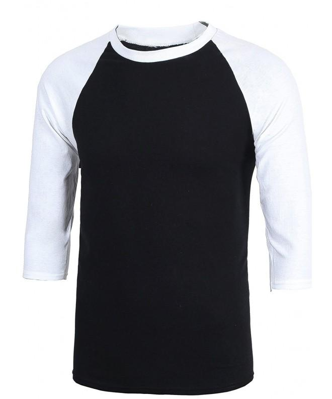 MIEDEON Casual Sleeve Baseball Tshirt