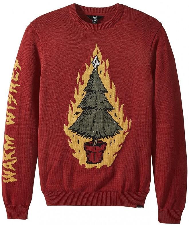 Volcom Mens Christmas Light Sweater
