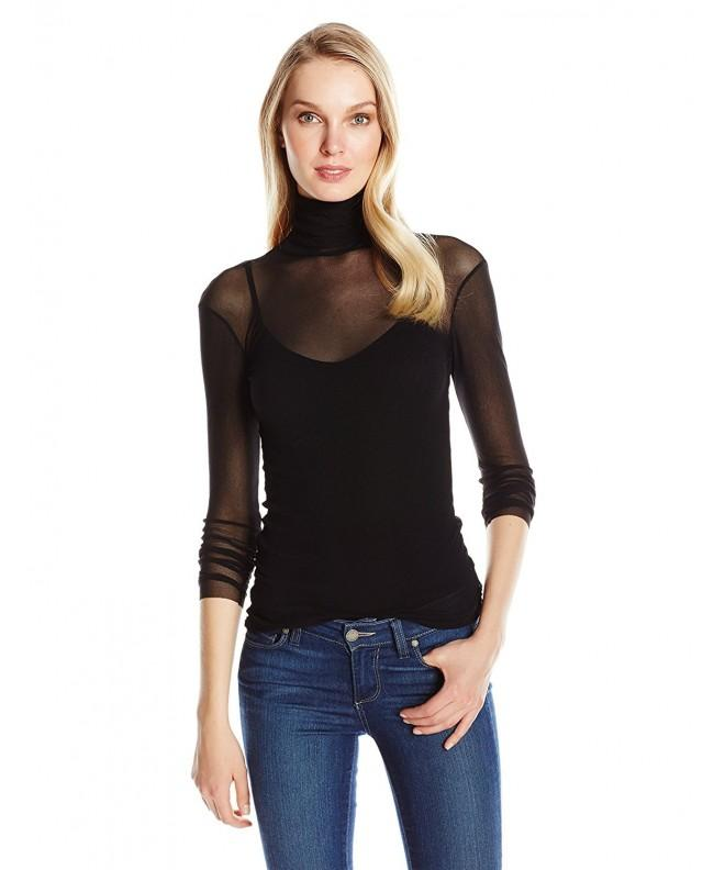 Only Hearts Womens Sleeve Turtleneck