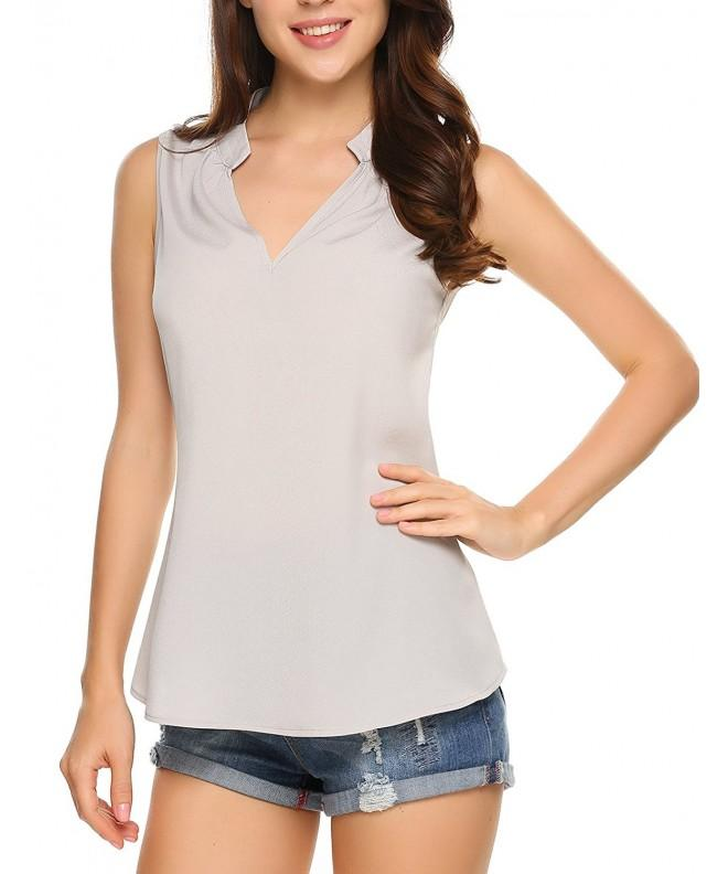 Women Loose Tank Sleeveless Blouse