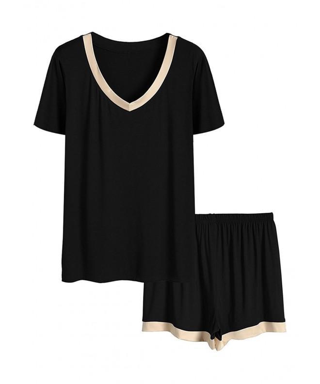 Fanhong Pajamas Women Sleeve Sleepwear