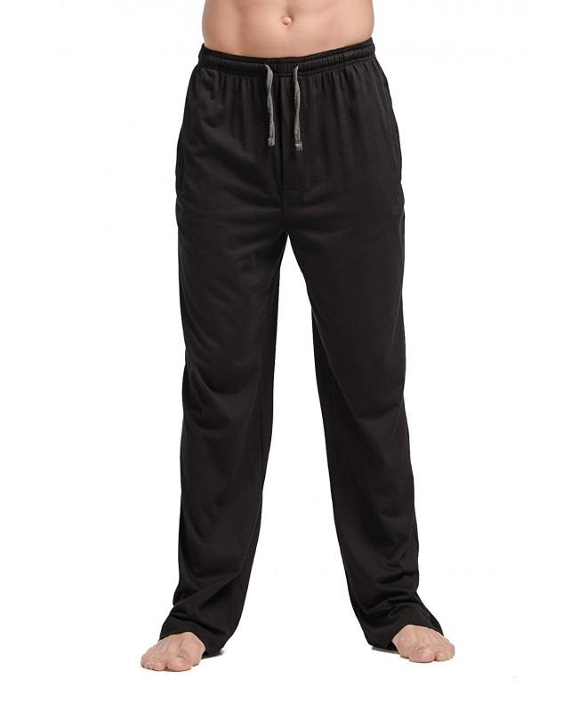 CYZ Cotton Jersey Pajama Pants Black L