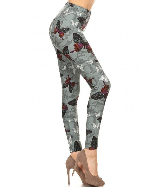 Print Leggings Butterfly Charm R783 OS