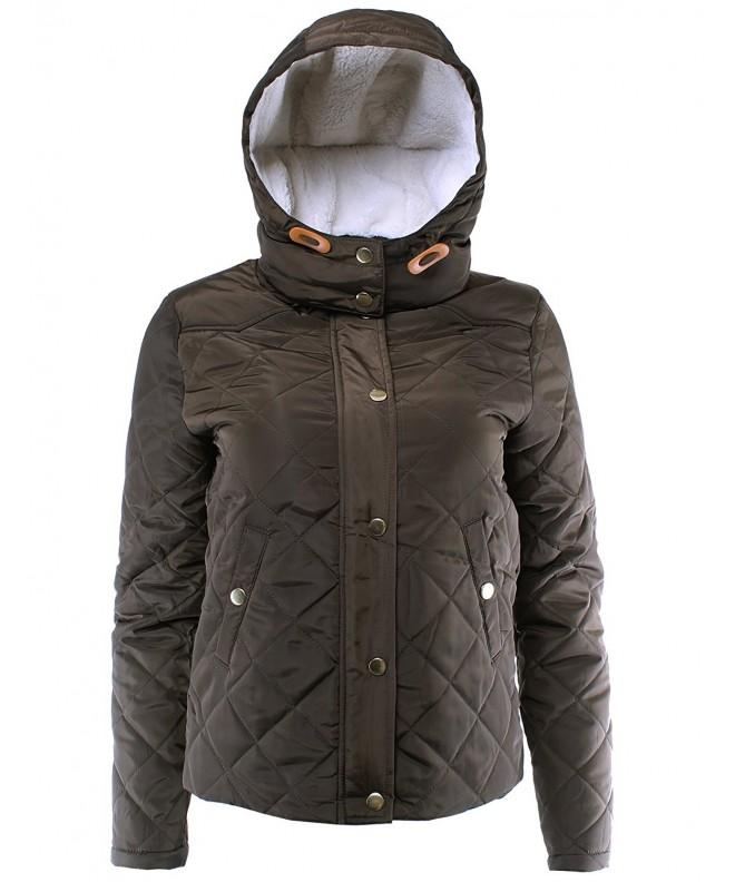 Ladies Code Quilted Padding Detachable