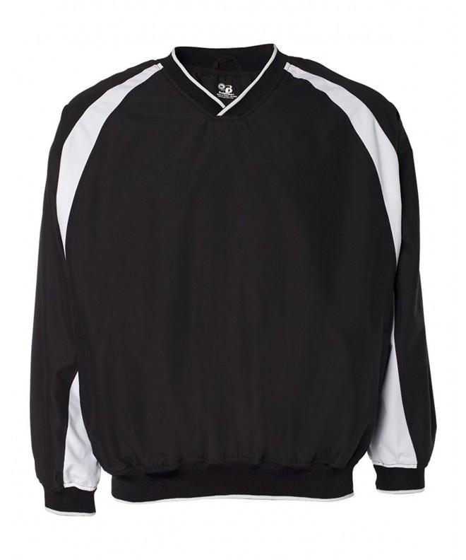 Badger Athletic Performance V Neck Windshirt