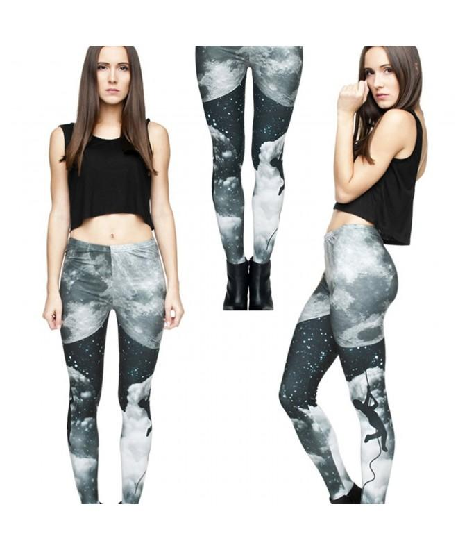 Digital Printed Elasticity Leggings Climbing