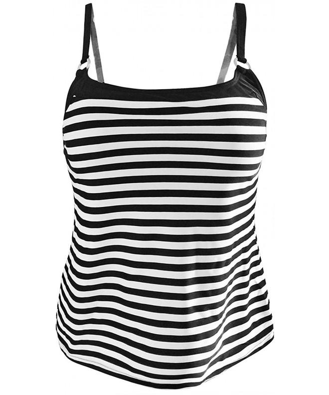 Gabrielle Aug Tankini Swimsuit 12 Black