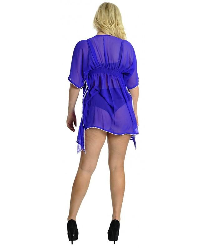 Leela Chiffon Womens Swimwear Swimsuit
