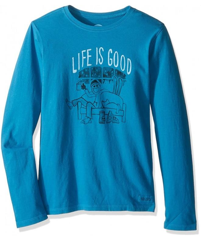 Life Crusher longsleeve Painted T Shirt