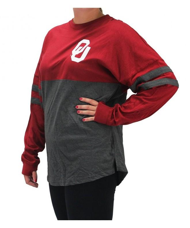 Pressbox Oklahoma Sooners Charcoal Sweeper