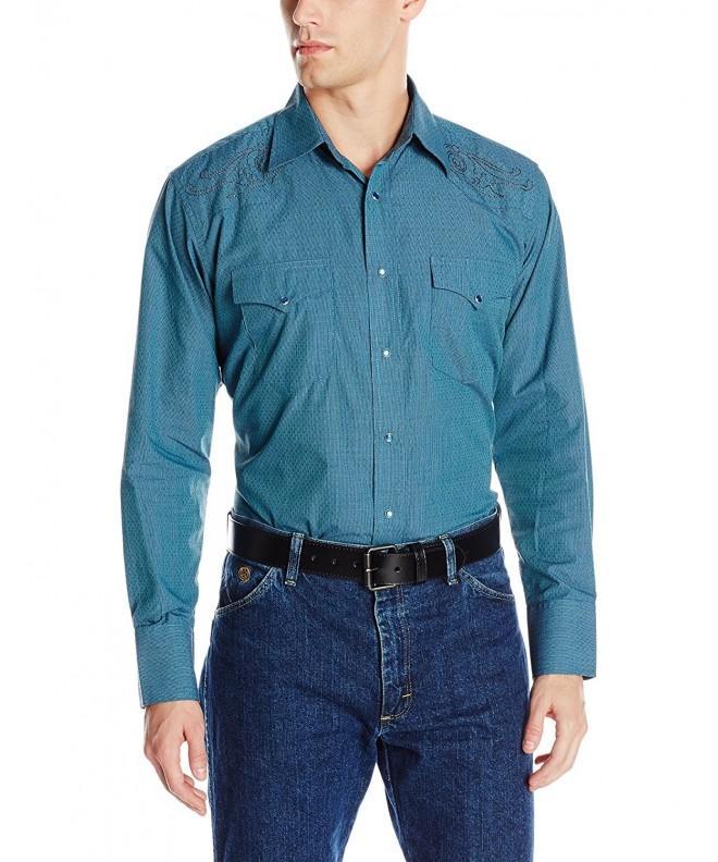 Wrangler Silver Sleeve Shirt Green