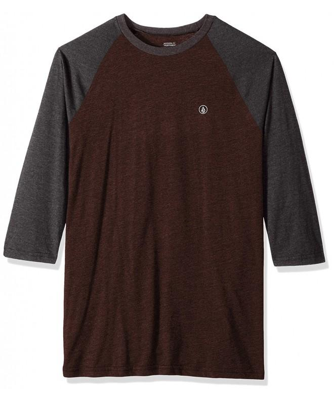 Volcom Solid Heather Raglan Shirt