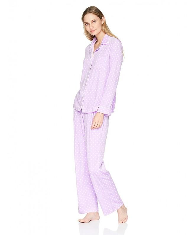 Carole Hochman Womens Fleece Pajama