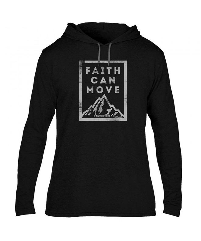 Faith Can Move Adult Hooded